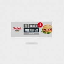 Medium Food and Freezer Bags
