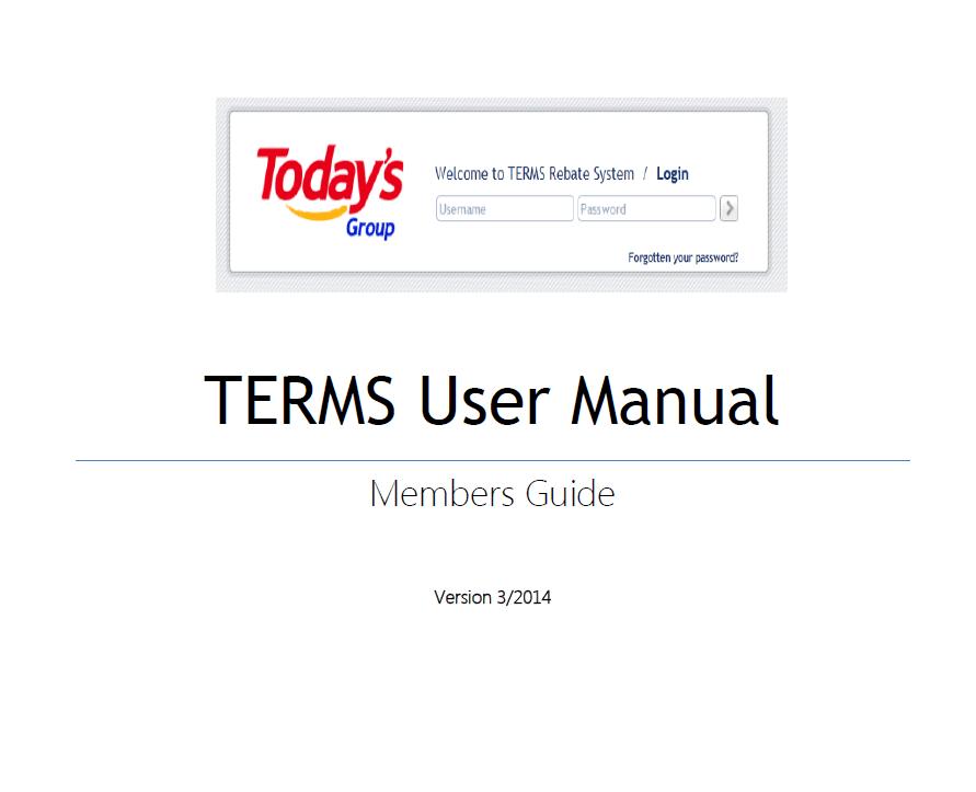 terms user manual