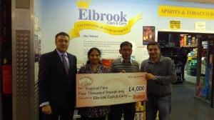 Mr & Mrs Shah Elbrook Cash & Carry Winners