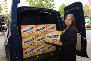 Weetabix - Van Giveaways in Hayes and Oldbury on the 26th April
