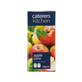 Caterer's Kitchen Apple Juice, 1 Ltr