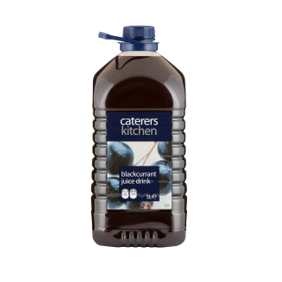 Caterer's Kitchen Blackcurrent Juice Drink, 5Ltr
