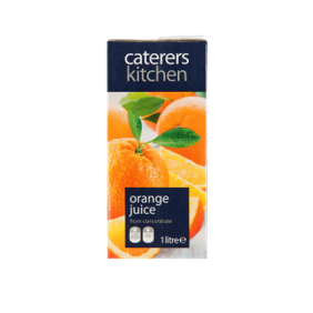 Caterer's Kitchen Orange Juice, 1 Ltr
