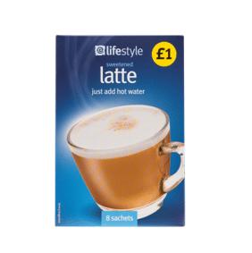 Lifestyle Latte Sachets, 8pk, PM £1