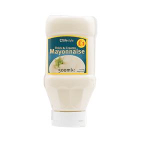 Lifestyle Mayonnaise, 500ml, PM £1