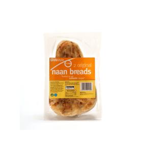 Lifestyle Plain Naan Bread, 2pk, PM £1.09
