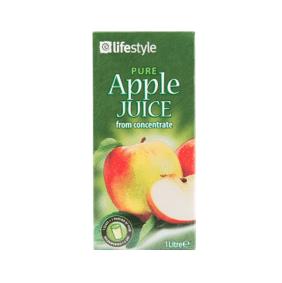 Lifestyle Pure Apple Juice, 200ml
