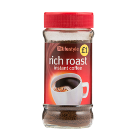 Lifestyle Rich Instant Coffee, 80g, PM £1
