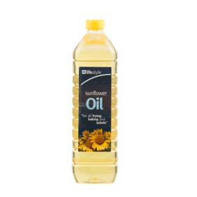 Lifestyle Sunflower Oil, 1 Ltr