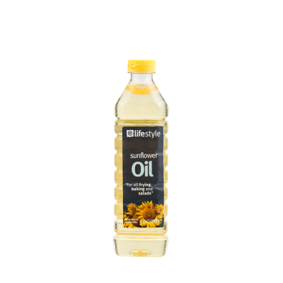 Lifestyle Sunflower Oil, 500ml
