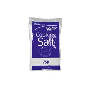 Lifestyle Cooking Salt Bag, 1.5kg, PM 75p