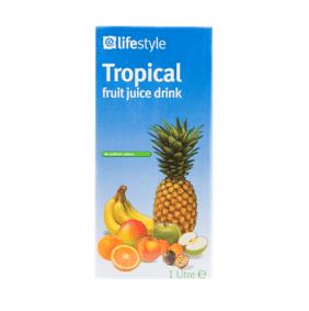 Lifestyle Tropical Fruit Juice, 1 Ltr