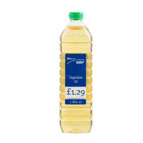 Lifestyle Value Vegetable Oil, 1 Ltr, PM £1.29