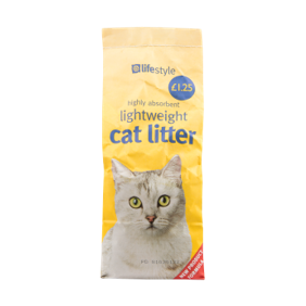 Lifestyle Cat Litter, 6 x 3 Ltr, PM £1.25