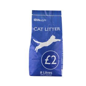 Lifestyle Cat litter, 1 x 8 Ltr, PM £2