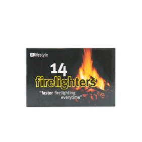 Lifestyle Firelighters, 24 x 14 pack