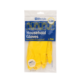 Lifestyle Rubber Gloves Small 12 x 1 pair – PM £1.20