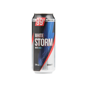 White Storm Cider, 24 x 500ml, PM 99p