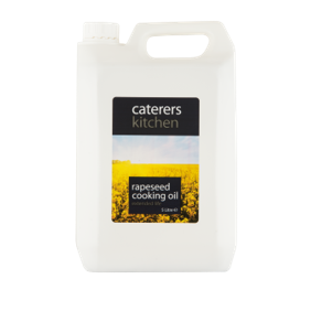 Caterers Kitchen Cooking Veg oil (Rapeseed (Poly Bottle) 5 Ltr