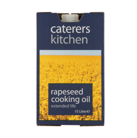 Caterers Kitchen Cooking Veg Oil (Rape Seed) Bib 20 Ltr
