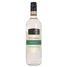 Vintners Collection Pinot Grigio Moldova 6 x 75cl
