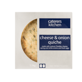 CK Quiche Cheese & Onion – 1.1kg