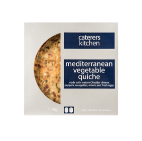 CK Quiche Mediterranean Vegetable – 1.1kg