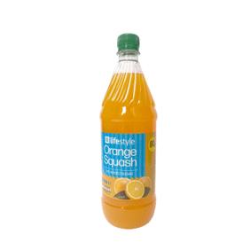 Lifestyle Orange NAS Squash, 1 Ltr, PM 80p