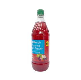 Lifestyle Summer Fruits NAS Squash, 1 Ltr, PM 80p